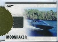 James Bond Heroes & Villains Case Topper Limited Relic Prop Card JBR8 #559/777