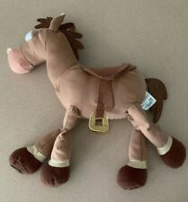 Disney Store Original Pixar Toy Story Horse Bullseye Stuffed Plush Animal 16""