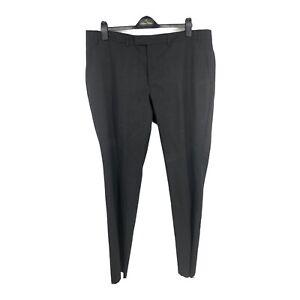 Cole Haan Charcoal Dress Suit Pants Mens Size 46S X W40 UNHEMMED Wool Blend