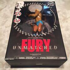 WWE Unmatched Fury Ric Flair Action Figure Platinum Wrestling JAKKS WCW WWF