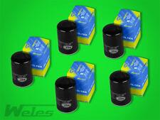 5 x SM107/1 Ölfilter MERCEDES 190 W201 E 1,8 2,0 2,3 2,6 W124 200 230 260 300