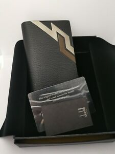 ALFRED DUNHILL BRAND NEW LEATHER  CARD CASE/HOLDER WALLET BOX/PAPERS RRP £240