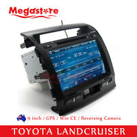"""9"""" Car DVD Stereo GPS Nav For TOYOTA LANDCRUISER 2007-2013 200 series"""