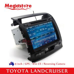 "9"" Car DVD Stereo GPS head unit 2din For TOYOTA LANDCRUISER 2007-2013 200 series"