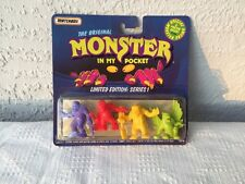 MONSTER IN MY POCKET LIMITED EDITION SERIES 1 UNOPENED MATCHBOX  PACK #1
