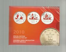 2010 VANCOUVER UNCIRCULATED COIN SET