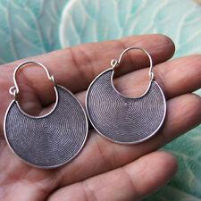 Cool Earrings pure silver 98 % Karen Hill tribe
