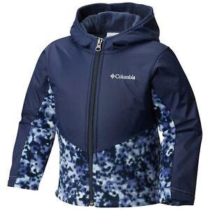 Columbia Steens Mountain Overlay Omni-Shield Hooded Fleece Jacket Boys 12/18 M