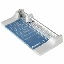 Dahle 507 Schneidegerät Papierschneider 8 Blatt DINA4 Rollschneider silber/blau