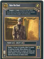 Star Wars CCG Reflections II Foil Outer Rim Scout