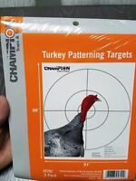 "Champion Poster 35""x31"" Gun Turkey Targets 3PK Free Ship!"