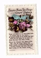 Antique Lilywhite Greetings RP Postcard - Absence Makes The Heart Grow Fonder