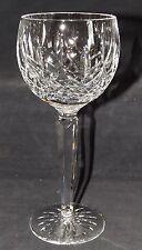 "Waterford Ireland Lismore Cut Crystal Wine Hock Signed 7 3/8"" - Older"