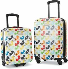 Brand New In Box - American Tourister Disney Mickey Mouse 2-Piece Luggage Set