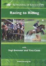 NEW DVD RETRAINING OF RACEHORSES YOGI BREISNER & TINA COOK