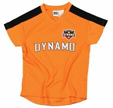 Houston Dynamo MLS Soccer Football Boys Youth Team Jersey Shirt Top, Orange