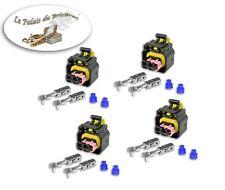 Lot de 4 connecteurs d'injecteurs MTA compatible injecteur Bosch OPEL / ALFA R..