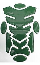 Transformer Bottle Green 3D Resin Domed Resin Tank Pad + 4 Oval Pads