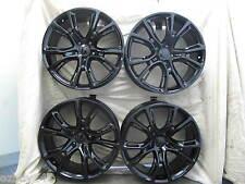 "20"" NEW JEEP GRAND CHEROKEE SRT8 STYLE 20X9 SET OF GLOSS BLACK WHEELS RIMS 9113"