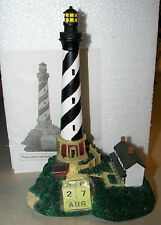"""Lighthouse Perpetual Calendar 8"""" New In Box"""
