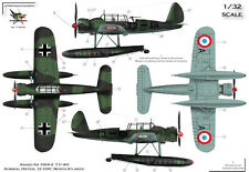 """[FFSMC Productions] Decals 1/32 Arado 196 Allemands """"Pseudo Francais"""""""