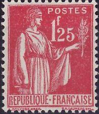 France num Yvert 370 ** MNH Paix Année 1937