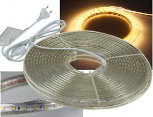 "LED-Stripe ""Ultra-Bright"" 230V, 20m warmweiß"