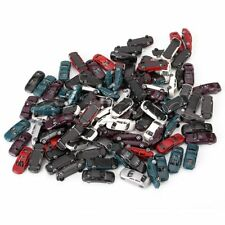 100PCS Different Style Multicolor Painted Model Cars 1:150 N Scale