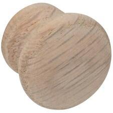 "25 Pk Do it 1"" Dia Round Wood Oak Cabinet Door Drawer Knob Pull 2/Pk 921DIO-10"