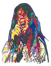 Meat Loaf, Singer, Vocals, Bat Out of Hell, Hard Rock, Rock & Roll, PRINT w/COA