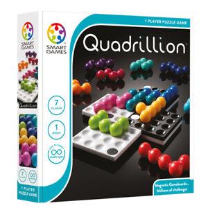Quadrillion IQ Puzzler - Children's 1 Player Brainteaser Logic Puzzle Game