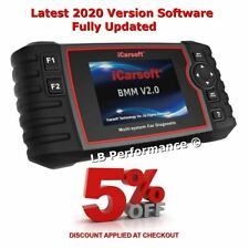 iCarsoft BMW V2.0  DIAGNOSTIC SCANNER TOOL OBD11  LATEST 2020 + EXTRA FEATURES