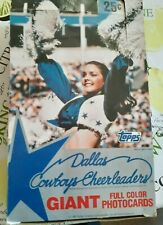 1981 Topps Dallas Cowboys Cheerleaders - Empty Display Box - SHELLEY KATZ