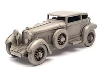 Danbury Mint Pewter Model Car Appx 10cm Long DA09 - 1930 Bentley Barnato