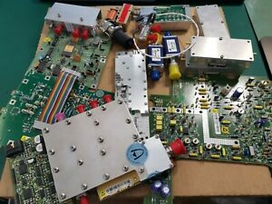 Various RF Component Used And New , Relays switches , Attenuator And Others