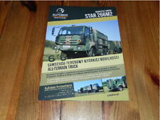 STAR 266M2 Autobox Defence Truck Military Vehicles Militär LKW brochure prospekt