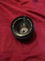 Minolta Lens Md Rokkor-X 50mm F1.7 Vintage Lens