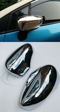 Renault CLIO MK4 IV 2012-2016 Chrome Add On Wing Mirror Covers Trim Set MK4 CLIO