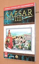 Caesar III Game startegy Guide prima's oficial solución libro