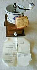 Mr. Dudley International Coffee Grinder Ceramic Dutch Windmill Design     L5