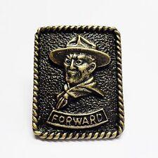 Boy Scout Baden Powell-Forward Woggle/neckerchief slide item no. WK102