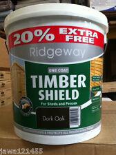 Garden Paint Ridgeway Timber shield Outside Paint 6L  + 25% Free One coat Paint
