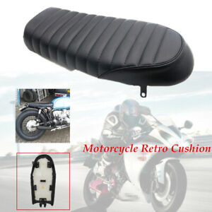 Motorcycle Plastic panel Comfortable Soft  Sponge Seat  For Cafe Racer CG125