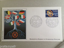 FRANCE 1984, FDC 1° JOUR, DRAPEAUX, ELECTION PARLEMENT EUROPEEN, timbre 2306