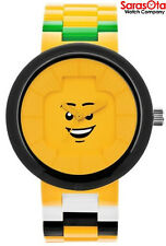 Lego 9007347 Happiness Yellow Dial Plastic Women's Watch