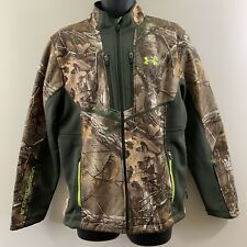 Under Armour Men's Jacket Sz L Camo Storm Scent Control RealTree Extra