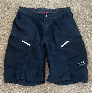 Men's Gore Bike Wear, black shorts, M