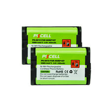 2pcs Cordless Phone Batteries 3.6V AAA 800mAh for Panasonic HHR P107 PKCELL