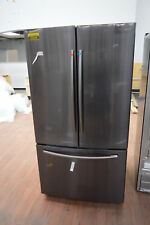 "Samsung Rf261Beaesg 36"" Black Stainless French Door Refrigerator Nob #25244 Hl"