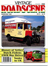 VINTAGE ROADSCENE No 42 1995 Articulated Vehicles GB,AEC 800,GWR Driver,Trams
